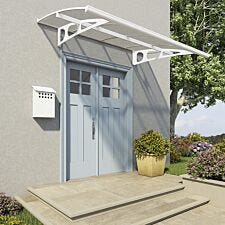 Palram Bordeaux Door Canopy - White
