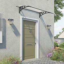 Palram Neo Door Canopy - Grey
