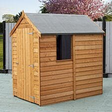 Shire Overlap 6 x 4 Value Overlap Shed with Window