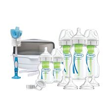 Dr Brown's Options Bottle & Steriliser Gift Set - White