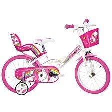 Dino Bikes Unicorn Bicycle 16in