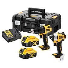 Dewalt DCK2062M2T XR Brushless Compact Twin Pack 18V 2 x 4.0Ah Li-ion