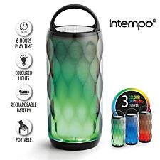 Intempo Galaxy WDS82 LED Colour-Changing Crystal Wireless Bluetooth Speaker