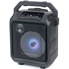 Intempo Tempo Tailgate 20 W Speaker with Microphone Port and LED Lights - Black
