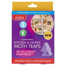 Acana Kitchen and Pantry Monitoring Moth Trap - Twin Pack