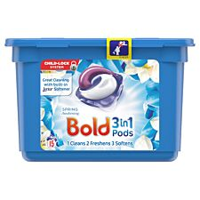Bold 3 in 1 Washing Pods - Spring Awakening