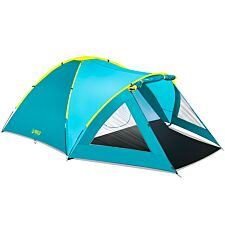 Pavillo Activemount 3 Person Tent - (2.10 + 1.40) x 2.40 x 1.30m