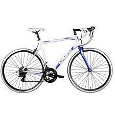 Barracuda Corvus 200 Steel Road Bike 700c Wheel - White/Blue
