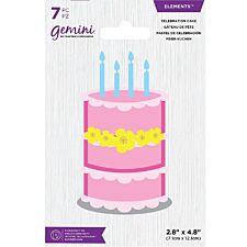 Gemini Die - Elements - Celebration Cake