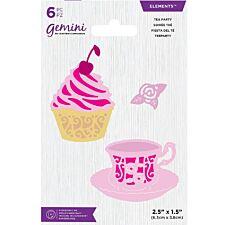 Gemini Die - Elements - Tea Party