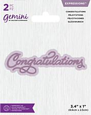 Gemini Die - Expressions - Congratulations