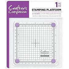 "Crafter's Companion Stamping Platform - 4"" x 4"""