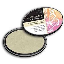 Watermark by Spectrum Noir Inkpad - Translucent Clear