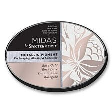 Midas by Spectrum Noir Metallic Pigment Inkpad - Rose Gold