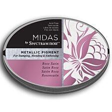 Midas by Spectrum Noir Metallic Pigment Inkpad - Rose Satin
