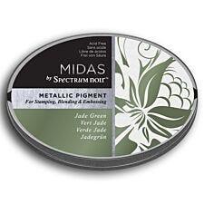 Midas by Spectrum Noir Metallic Pigment Inkpad - Jade Green