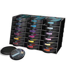 Spectrum Noir Inkpad Stackable Storage Trays - 6 Trays for 18 Inkpads