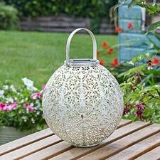 Smart Garden Damasque Cream Lantern