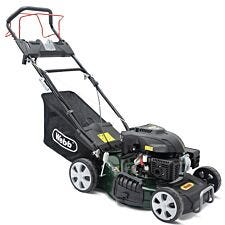 "Webb Classic 46cm (18"") Self Propelled Electric Start Petrol Rotary Lawnmower"