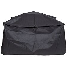 La Hacienda Premium Firepit Cover Square - Black