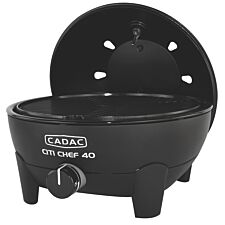 Cadac Citi Chef 40 Black Gas BBQ Plus 36cm Chef Pan
