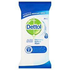 Dettol Antibacterial Surface Cleanser Wipes - 30