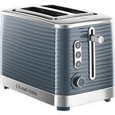 Russell Hobbs 24373 Inspire 1050W Wide Slot 2–Slice Toaster – Grey