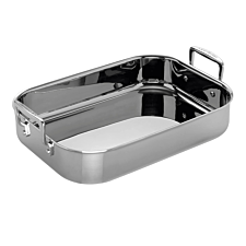Le Creuset 3-Ply Stainless Steel Rectangular Roaster 26cm