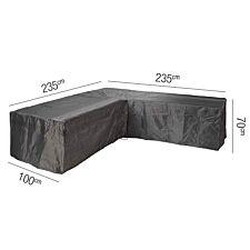 Lounge Set Aerocover L-Shape 235 x 235 x 100 x70cm