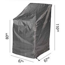 Stackable Chair Aerocover 67 x 67 x 80/110