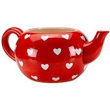 Smart Garden Heart Teapot Planter