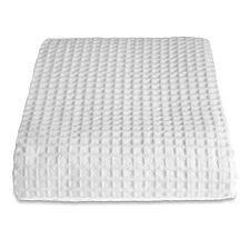 Allure Sedona 175 x 225 Waffle Throw - White