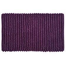Allure Sparkle Bobble Bath Mat - Purple