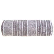 Allure Stripe Bath Sheet - Grey