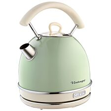 Ariete 1.7L Vintage Dome Kettle - Green