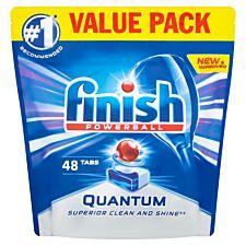Finish Quantum Max Dishwasher Tablets - 48 Pack