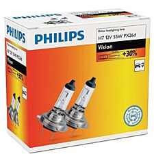Philips Vision H7 Bulb Twin Pack