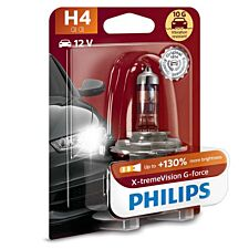 Philips X-tremeVision G-force H4 Bulb