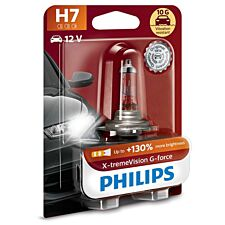 Philips X-tremeVision G-force H7 Bulb