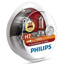 Philips X-tremeVision G-force H7 Bulb Twin Pack