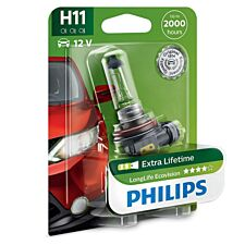 Philips LongLife EcoVision H11 Bulb