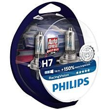 Philips RacingVision H7 Bulb Twin Pack