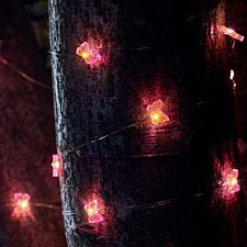Smart Solar 30 Flower Firefly String Lights