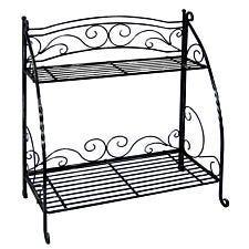 VegTrug Folding Plant Stand 2 Shelf