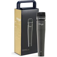 Stagg SDM70 Professional Cardioid Dynamic Microphone with Cartridge