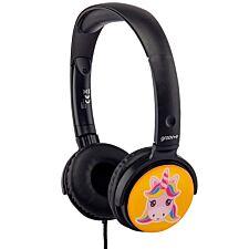 Groov-e EarMOJI's Stereo Headphones - Unicorn