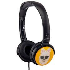 Groov-e EarMOJI's Stereo Headphones - Cool Llama