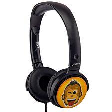 Groov-e EarMOJI's Stereo Headphones - Cheeky Monkey