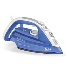 Tefal Ultragliss Anti-Scale FV4944 Steam Iron - Blue & White