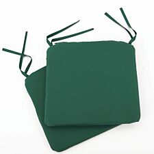 Greenhurst Pack of 2 Seat Cushions - Forest Green